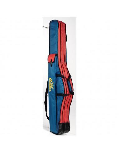 Carson Fodero 2 Scomparti 135 cm Blu / Rosso