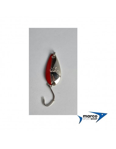 Tamura Spoon Carson 3 Gr Col Chrome Plating/Red Band