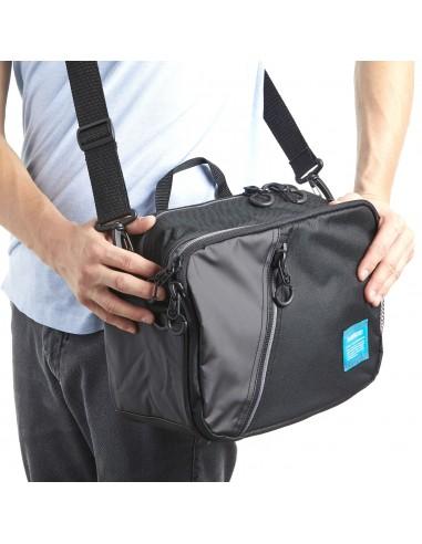 Shoulder Bag Black M 12 x 34 x 23 cm