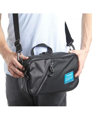 Shimano Shoulder Bag Black S 10 x 29 x 17 cm