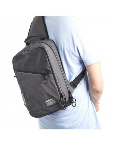 Sling Shoulder Bag Melange M 10 x 22 x 37 cm