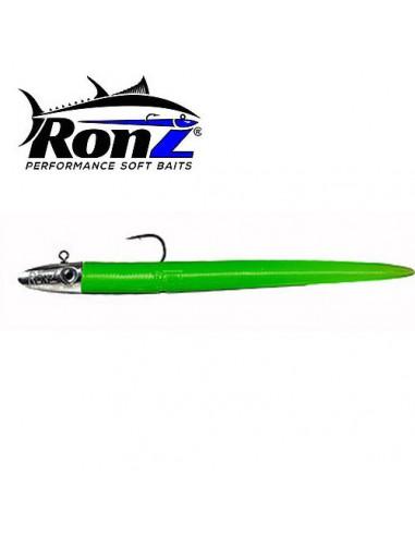 Ronz Lures 3/8 oz 6 Inch Verde